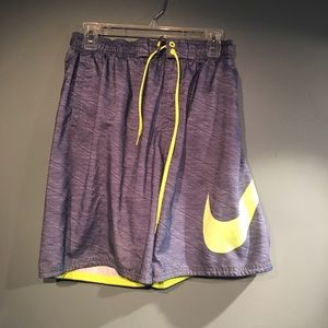 Nike volleyball style gym workout shorts boys